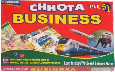 Gifting Trends Chotta 5 in 1 Business Board Game