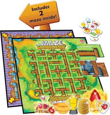 MadRat Games Maze Madness Board Game