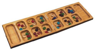 Square Root Travel Mancala Board Game