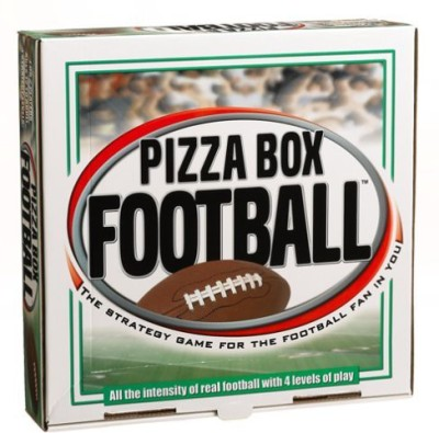 Reveal Entertainment, Inc. Reveal Entertainment Pizza Box Football Board Game