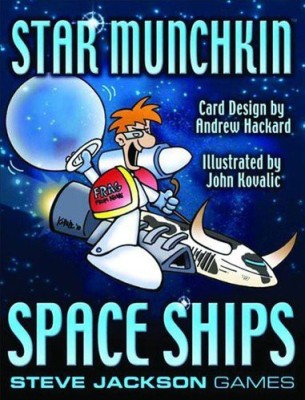 Steve Jackson Games Space Ships Star Munchkin Expansion Board Game
