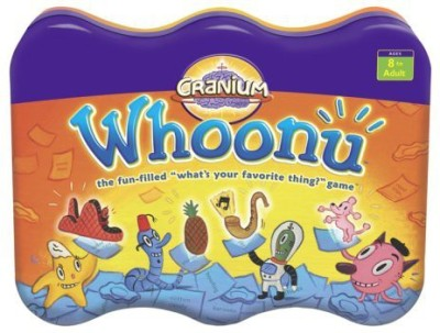 Cranium Whoonu (Tin) Board Game
