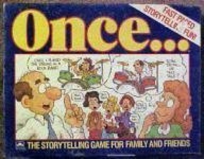 Pizazz Games Oncethe Storytelling For Family And Friends Board Game