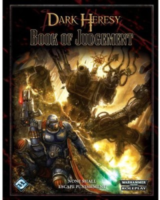 Fantasy Flight Games Dark Heresy The Book Of Judgment Board Game