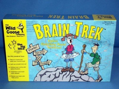 Wild Goose Brain Trek Board Game