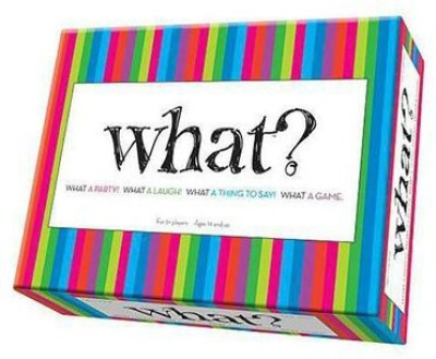 Outset Media Party What? Original Edition The Ultimate Laugh Out Loud Board Game