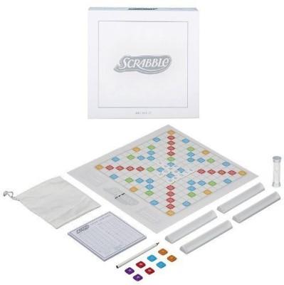 Hasbro Scrabble Family Pearl Edition Board Game