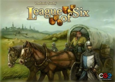 Czech Games Edition League Of Six Board Game