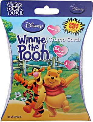 Disney WINNIE THE POOH TRUMP CARDS Board Game