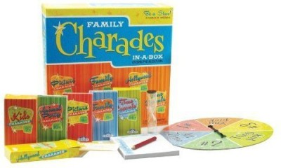 Outset Media Charades Party Family Charadesinabox Compendium Board Game