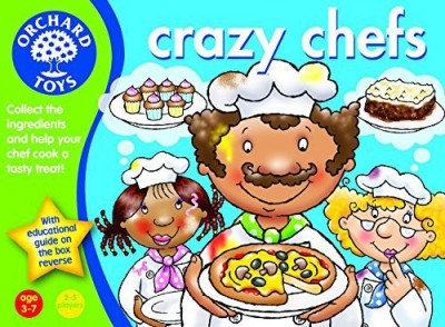 Orchard Toys Crazy Chefs Board Game