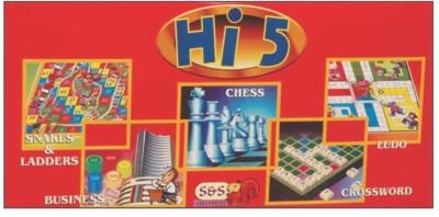 Ajanta Hi-5 Game Board Game