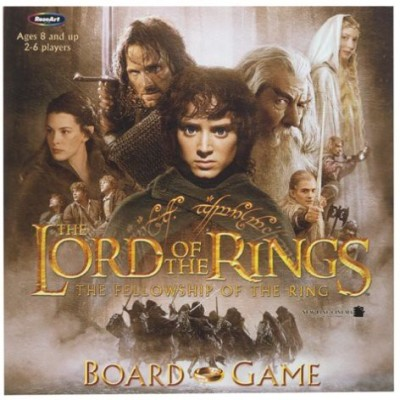 Rose Art Lord Of The Rings The Fellowship Board Game