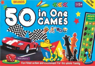 Brands 50 Games in 1 Board Game