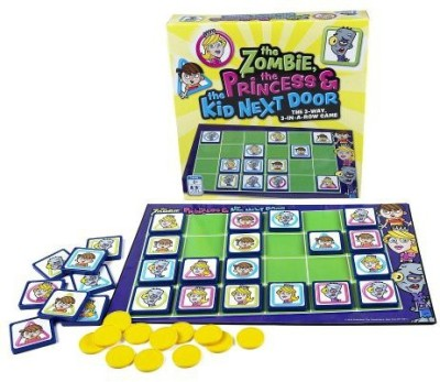 Pressman Toy The Zombiethe Princess And The Kid Next Door Board Game