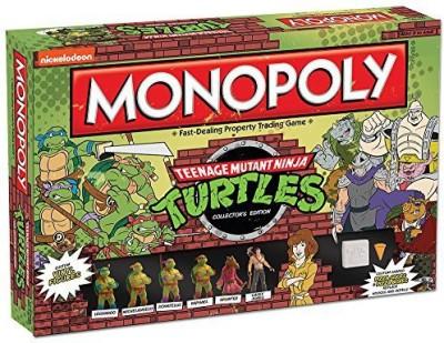 USAopoly Monopoly Teenage Mutant Ninja Turtles Collector,S Edition Board Game