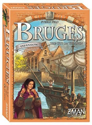 Z-Man Games Bruges The City On The Zwin Board Game