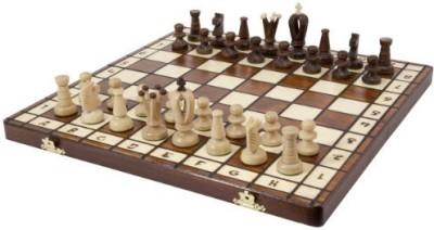 Wegiel Royal 36 European Wood International Chess Set Board Game
