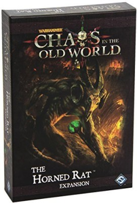 Fantasy Flight Games Chaos In The Old World The Horned Rat Expansion Board Game