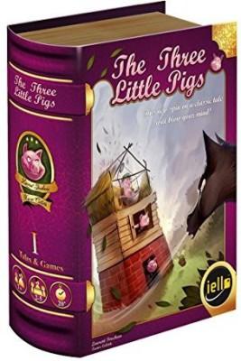 IELLO The Three Little Pigs Board Game