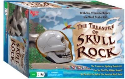 University Games The Treasure Of Skull Rock Adventure Board Game