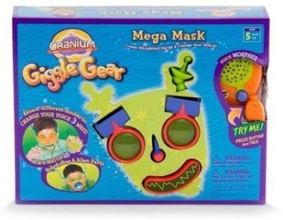 Cranium Giggle Gear Mega Mask With Robotbugand Alien Parts Board Game