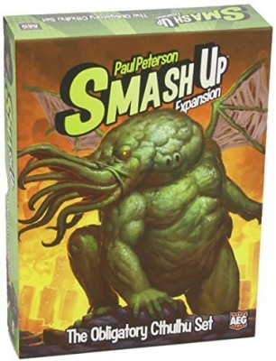 Alderac Entertainment Group Smash Up The Obligatory Cthulhu Expansion Board Game