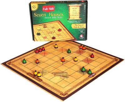 Kidz Valle Seven Houses, Chowka Bara , Kattemane, Ashta Chemma , Ancient India Series, Indian Traditional Board Game