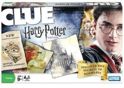 Parker Brothers Clue Harry Potter Edition Board Game