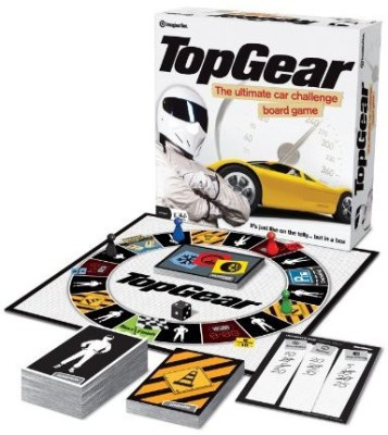 ima Top Gear Ultte Car Challenge Board Game