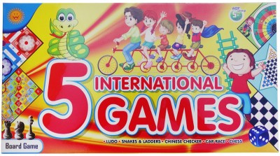 DreamBag 5 International Board Game