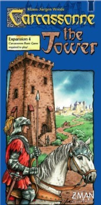Z-Man Games Carcassonne The Tower Expansion Board Game