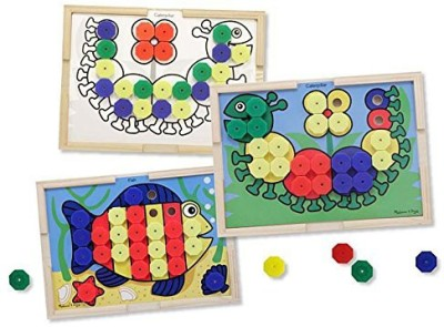 Melissa & Doug Sort and Snap Color Match Board Game