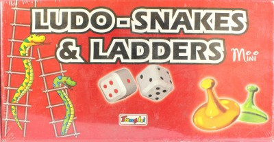Tanshi Ludo-Snakes & Ladders Mini Board Game