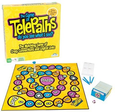 Outset Media Party Telepaths The Guess Whats On Your Mind Family Board Game