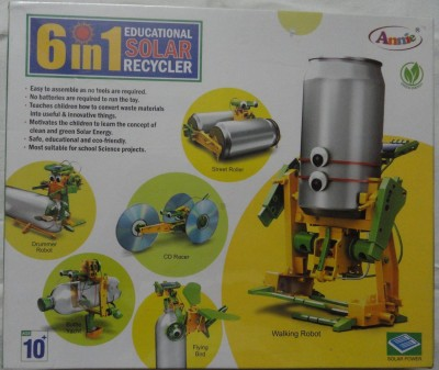 ANNIE 6 IN 1 EDUCATIONAL SOLAR RECYCLER Board Game