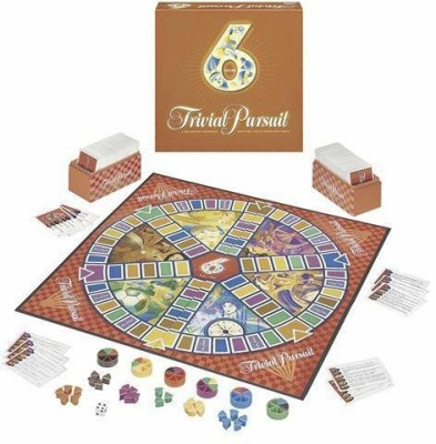 Hasbro Trivial Pursuit 6Th Edition Board Game