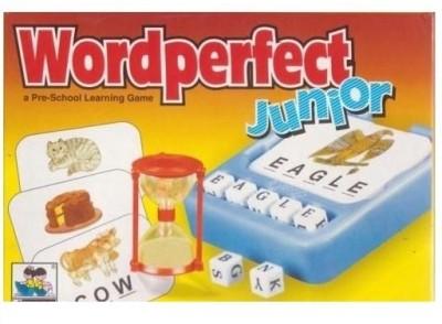 Giftoscope Wordperfect Junior A Pre-School Spelling Learning Board Game