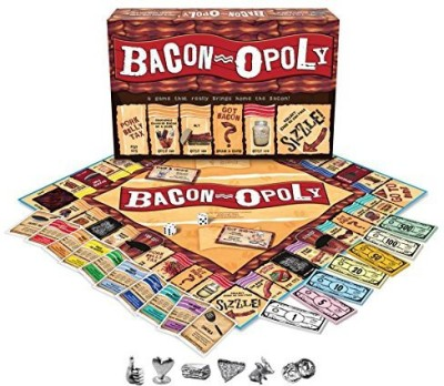 Late for the Sky bacon-opoly Board Game