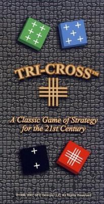 Games for Competitors Tri Cross Board Game