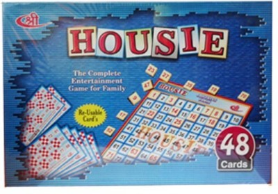 Shree Creations Housie 48 Reusable Cards Board Game