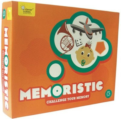Clever Cubes Memoristic Board Game