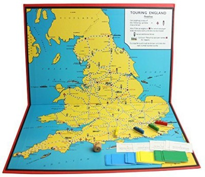 Perisphere And Trylon Games Touring England Board Game