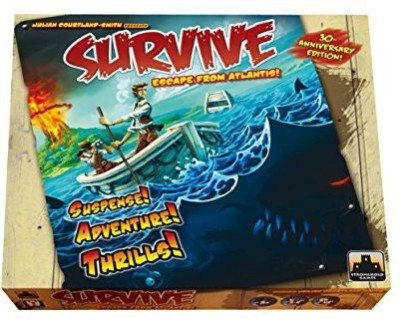 Stronghold Games Survive Escape From Atlantis 30Th Anniversary Edition Board Game