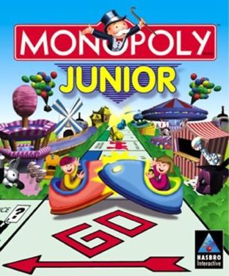 Hasbro Monopoly Junior Cdrom Board Game