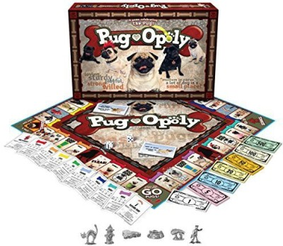 Late for the Sky Pugopoly Board Game