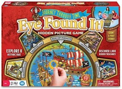 Wonder Forge Journey Through Time Eye Found It Board Game