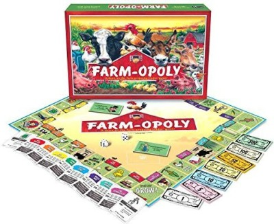 Late for the Sky Farmopoly Board Game