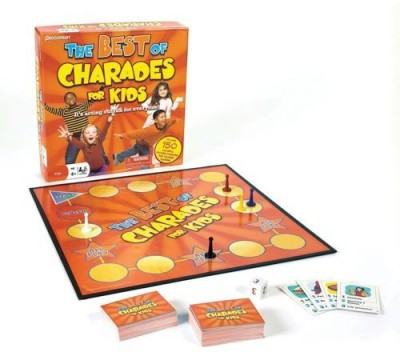Pressman Toy S The Best Of Charades For Kids Board Game