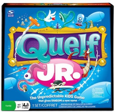Spin Master Games Quelf Jr Board Game